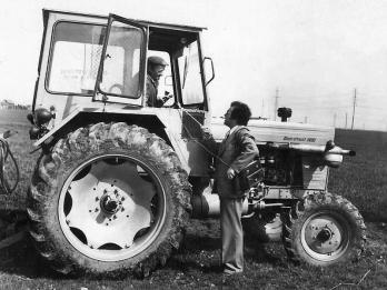 În dialog cu un tractorist
