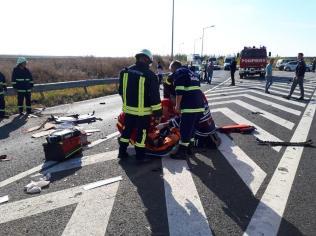 accident autostrada Nadlac (2)