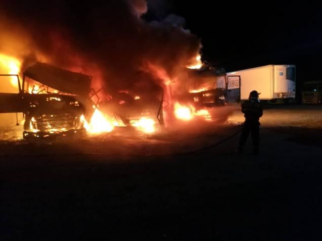 incendiu parcare Arad (1)