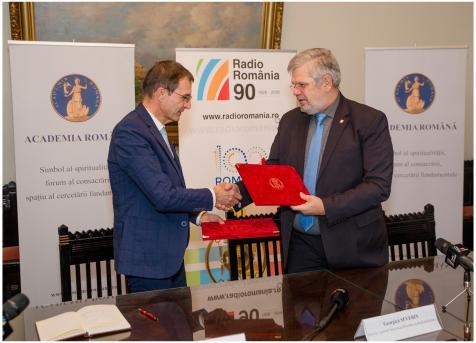 Acord de colaborare SRR Academia Romana3 6nov2018 Foto Alexandru Dolea