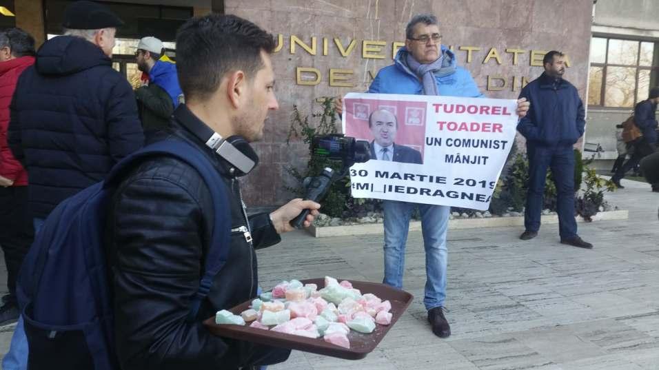 protest Tudorel Toader UVT (3)