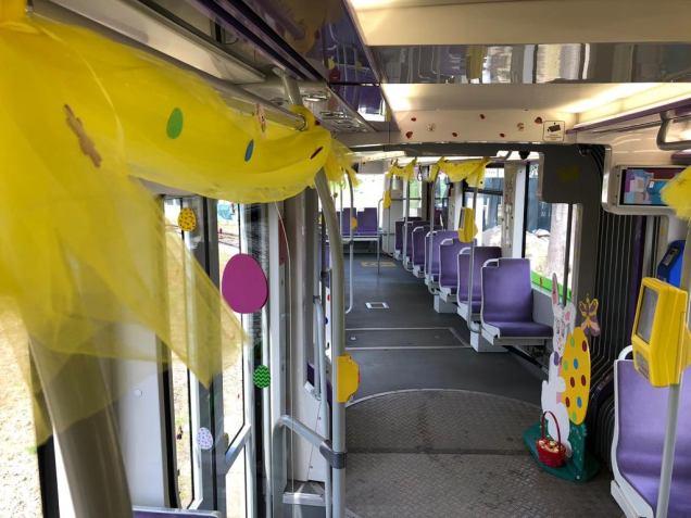 tramvaiul iepurasului FOTO STPT Facebook 2