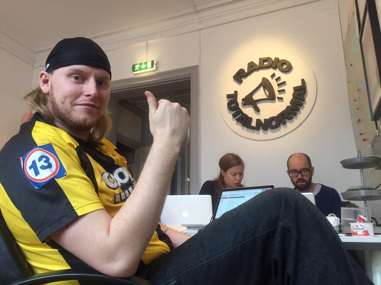 Svenska Spel gästar Radio Totalnormal, idag på Götgatan 38!