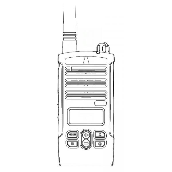 Motorola CP110m MURS Display License Exempt VHF Two Way