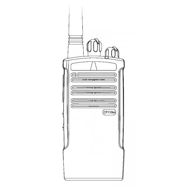 Motorola CP110m MURS License Exempt VHF Two Way Radio