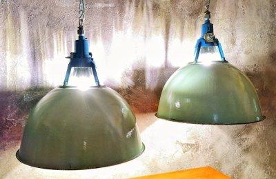 alcune lampade di Placida Lettis Luce presenti a East Market
