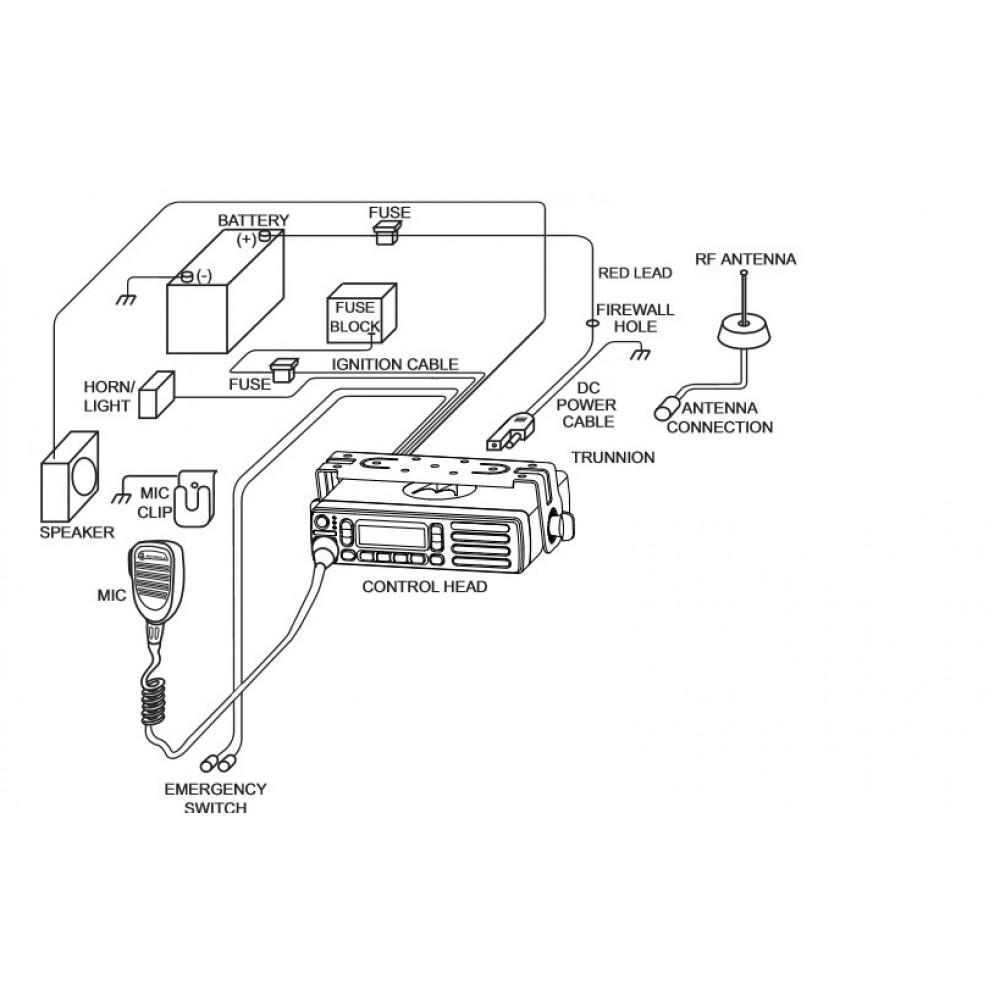 motorola cdm1250 pin diagram