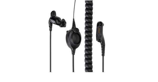 Motorola PMLN5653 Ear Mic for APX and XPR series portable