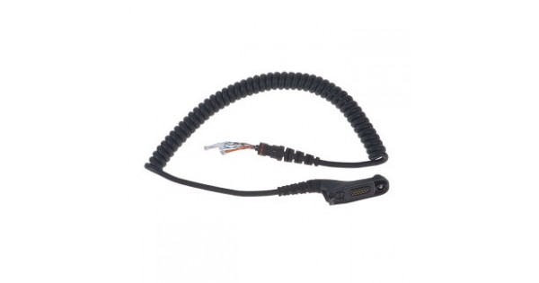 Remote Speaker Microphone Replacement Coil Cord Kit