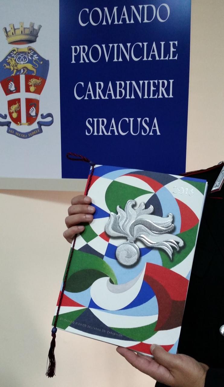 Presentato il Calendario storico dell'Arma dei Carabinieri