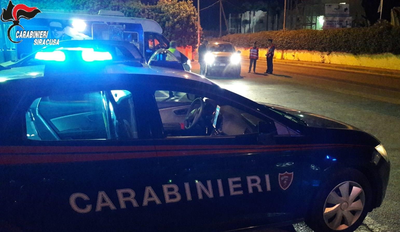 Siracusa, un disoccupato evada dai domiciliari, arrestato dai carabinieri