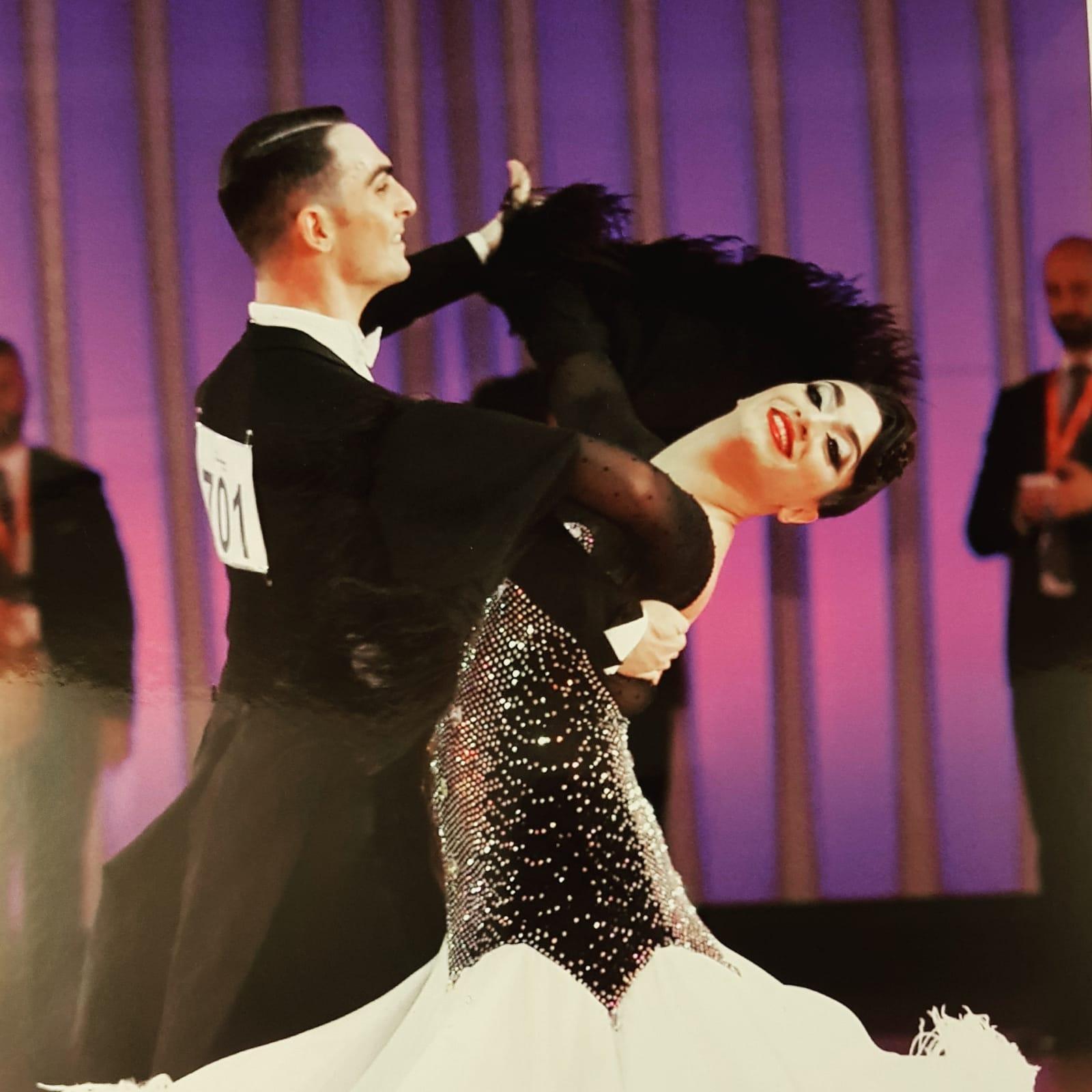 Siracusa, successo per la  coppia di ballerini siracusani Riccardo Aliffi e Claudia Arnone