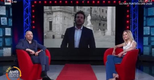 """Siracusa,  Fase 2: il sindaco Francesco Italia a """"Da Noi… A Ruota Libera"""" su Rai 1."""