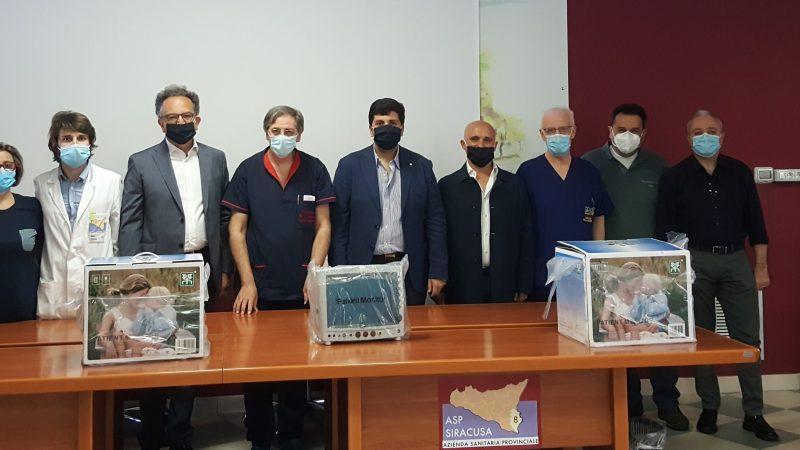 Coronavirus, donate dalla Sicula Trasporti attrezzature all'ospedale di Lentini