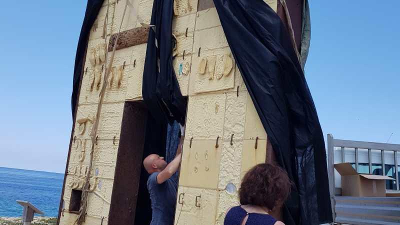 """Lampedusa, """"sigillata"""" la Porta d'Europa. Barbagallo: gesto di protesta da condannare, necessario sostenere la comunità locale"""