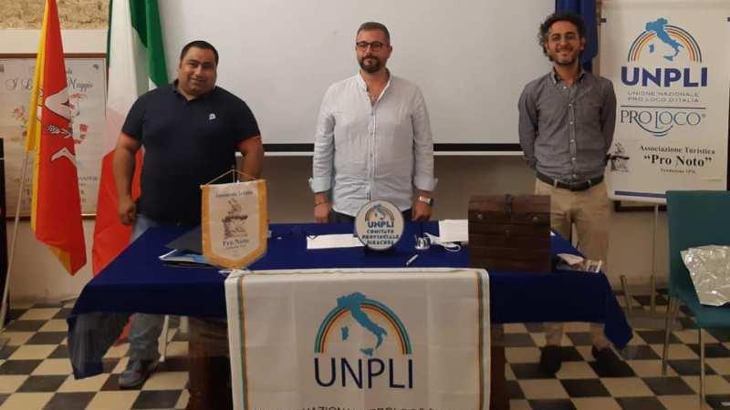 il lentinese Luca Francesco Fazzino  è il nuovo Presidente del Comitato Unpli Siracusa