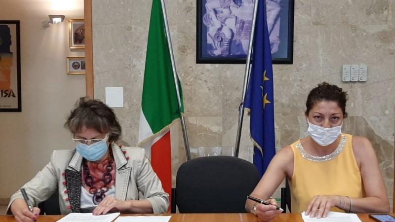 Augusta Spiagge Sicure-Estate 2020  Prefetto Giusy Scaduto  e Sindaco Cettina Di Pietro sottoscrivono il protocollo d'intesa