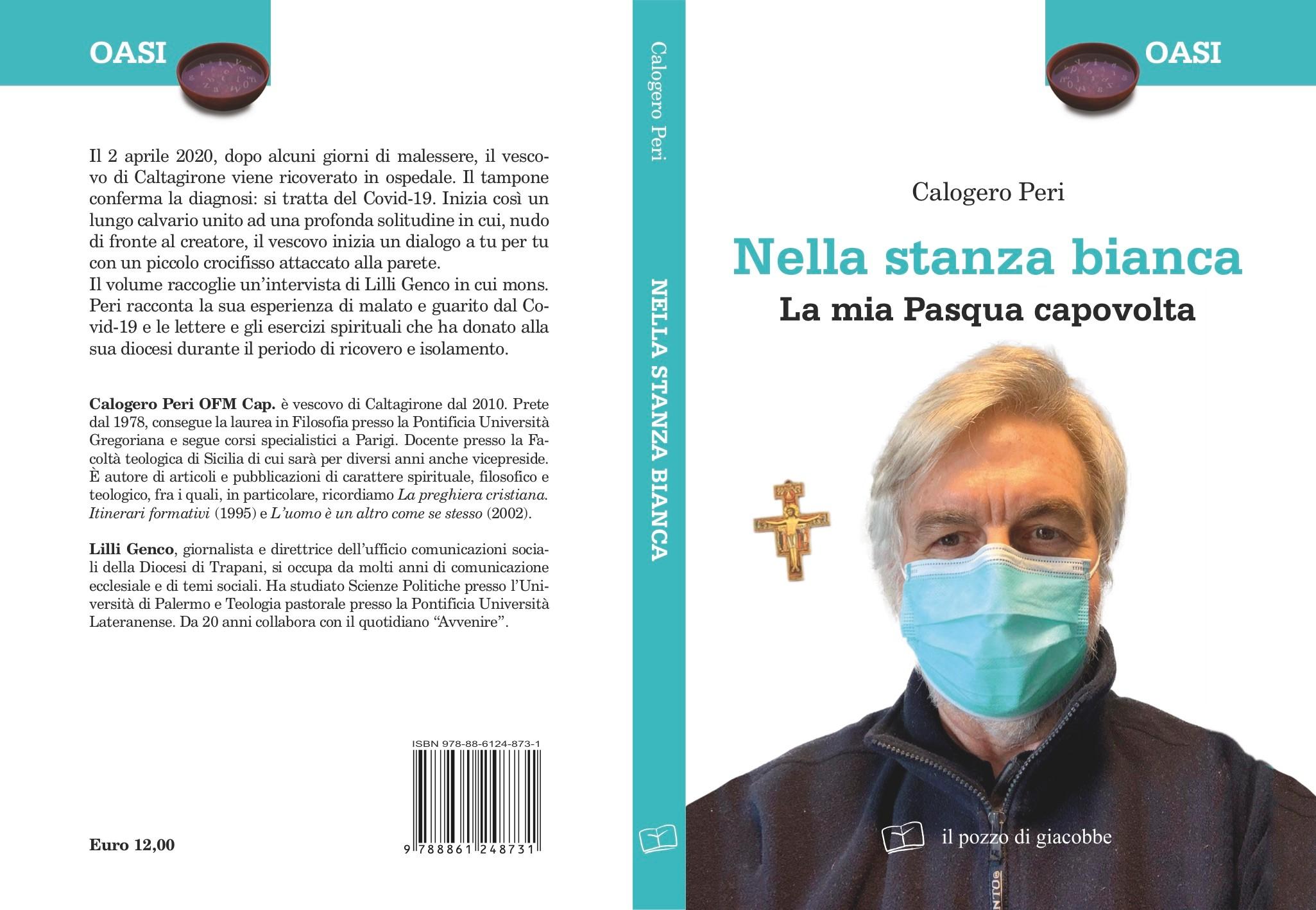 """Caltagirone, In libreria """"Nella stanza bianca"""" il vescovo Calogero Peri racconta la sua esperienza con il Covid-19"""