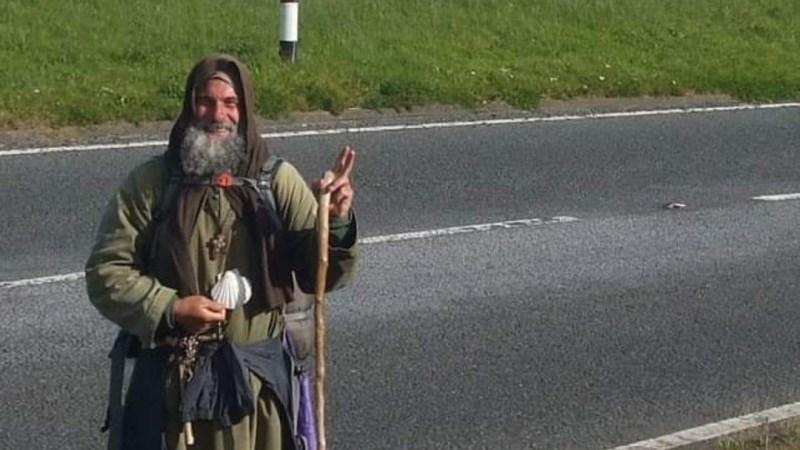 Fratel Biagio sospende il santo cammino in Europa e ritorna in Sicilia