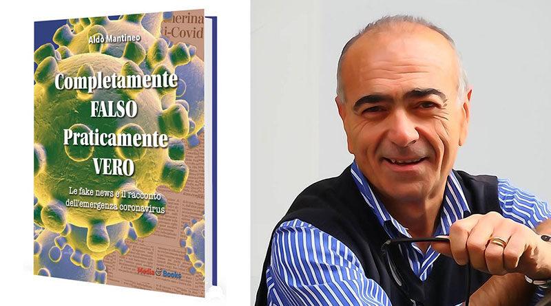"""Il giornalista Aldo Mantineo ospite del programma """"Zoom di approfondimento"""" per presentare """"Completamente falso, praticamente vero"""""""