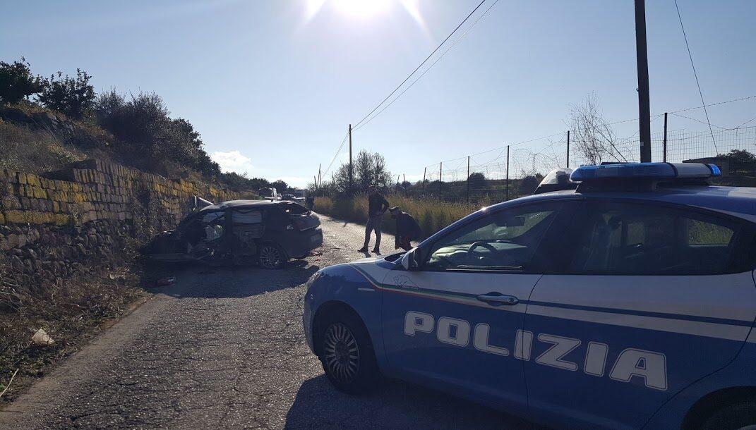 """Augusta, Pauroso frontale sulla strada provinciale """"57"""" Carlentini – Brucoli. Tre feriti, uno è in prognosi riservata all'ospedale """"Cannizzaro"""""""