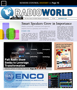 Radio World Sept. 11, 2019