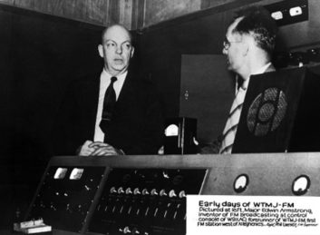 Edwin Howard Armstrong, Phil Laeser, WTMJ