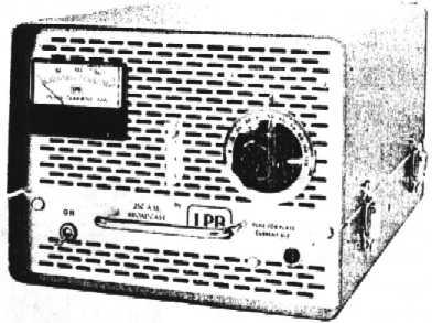 LPB Carrier Current AM Broadcast Transmitter