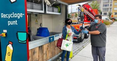 Recyclagepunten scoren best in Deurne, Ekeren en Wilrijk