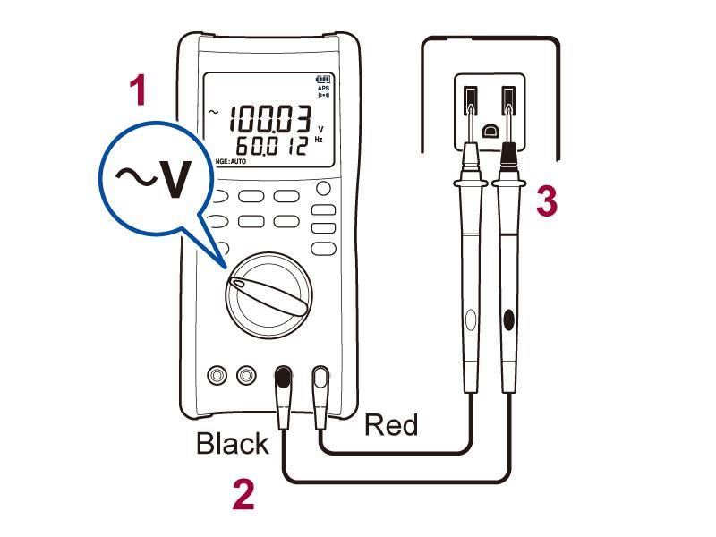 cara-menggunakan-digital-multimeter-dt4282-ac-voltage