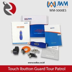 isi paket jwm WM-5000ES alat patroli