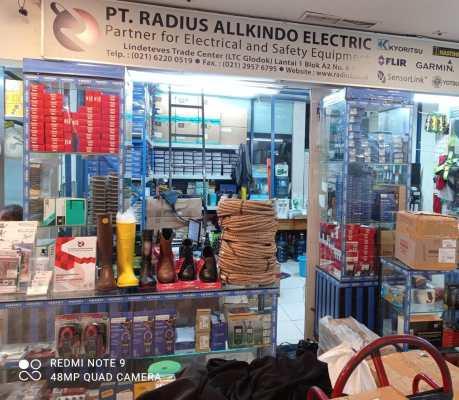 toko listrik ltc glodok radius allkindo electrik