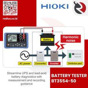 review battery tester hioki bt3554-50