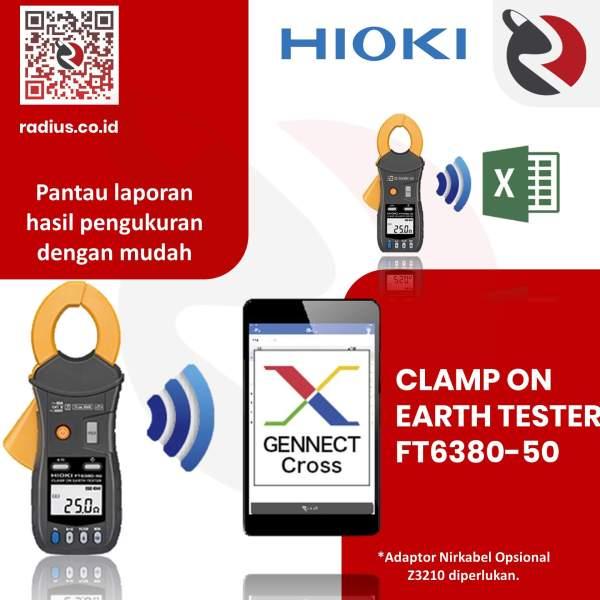harga hioki ft6380-50 z3210 clamp earth tester bluetooth