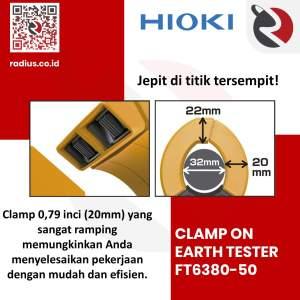 hioki ft6380-50 clamp earth tester bluetooth