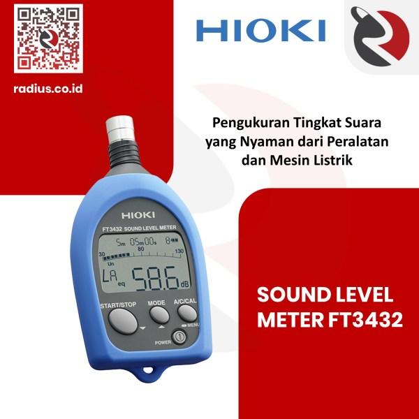 Hioki FT3432 Sound Level Meter