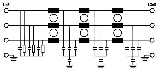 Inverter EMI Filters : RP357 Series