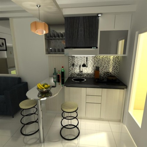 kitchen set apartemen studio
