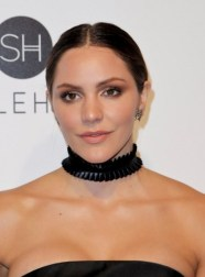 Katharine McPhee attends the 2017 Elton John AIDS Foundation Academy Awards Viewing Party in West Hollywood, California, on February 26, 2017. / AFP PHOTO / TIBRINA HOBSON