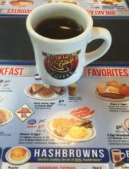 Waffle House Menu and Coffee