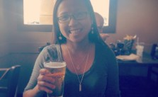 Extended Birfday celebration with my bro. I guess I still look under 21… Was carded for my Sapporo ^_^
