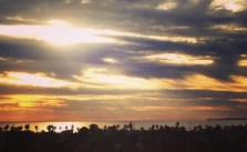 Back on the Coast for #LAMarathon #sunset #pacific