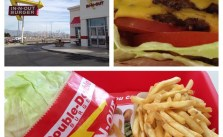 Double-double, protein style + well done fries. 2nd breakfast/early lunch. My #LAMarathon reward! #in-n-out #doubledouble