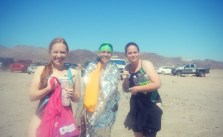 My pod mates, post-5km #ows :) #swimLV #lakemead #swimming
