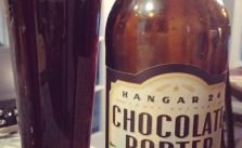 Last few hours in the OC & sis got me this Chocolate #porter from the Inland Empire (Redlands, CA) #malt [instagram]