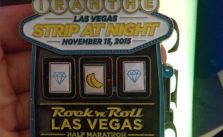 No triple diamonds. I can't win at slots anywhere in Vegas! lol #RnRLV #stripatnight #sweetmedal [instagram]
