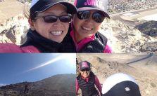 Lone Mtn loop + summit with sis @runtricpa #optoutside [instagram]