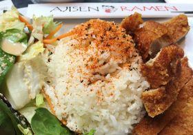 Pork katsu curry! #lunch #ajisenramen [instagram]