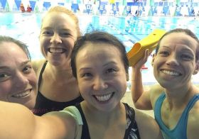 2,650yds tonight with these awesome gals! #triathlon #training #nuunlife #paragirls [instagram]