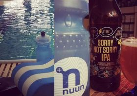 From the pool deck to the table. #alwayshydrate #nuunlife #ipa #triathlontraining [instagram]